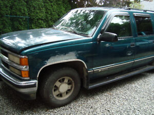 1995 suburban complete part out