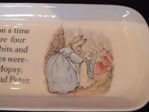 "Wedgwood Collection, Peter Rabbit ""Pencil Tray"" London Ontario image 5"