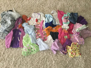 Baby girl clothing, 12-18 months, good cond, smoke free !