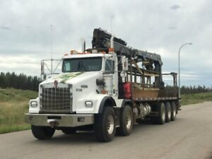 2006 Kenworth T800 with Heila  Forming Boom