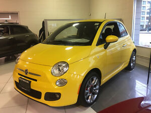 2016 Fiat 500 Coupe (2 door)