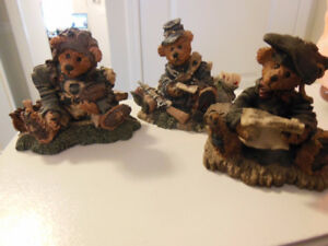Rare Collectable Boyd's Bears (3)