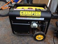 Almost new - Champion 4000 Watt Generator