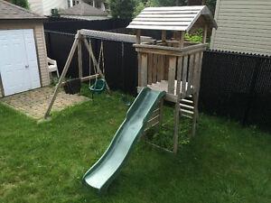 Swing/slide set