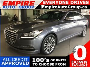 2015 HYUNDAI GENESIS LEATHER * NAV * REAR CAM * PANO SUNROOF * H