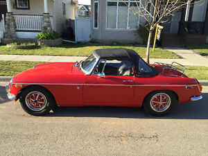 Rare 1972 MGB Convertible Roadster