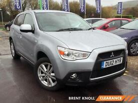 2012 MITSUBISHI ASX 1.8 [116] 4 ClearTec 5dr 4WD