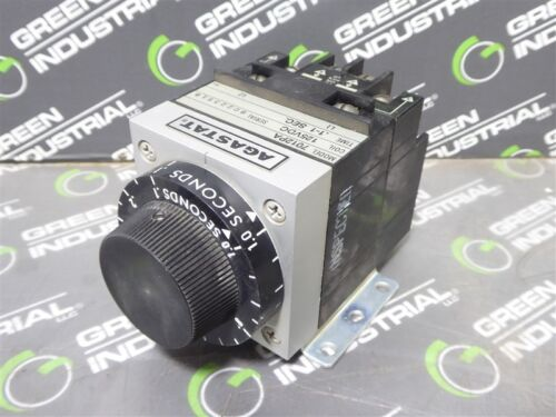 USED Agastat 7012PA Timing Relay Module 125VDC .1-1 Seconds