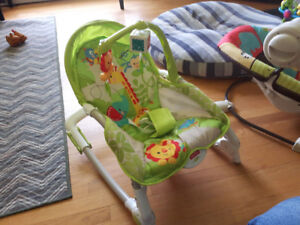 BABY SWING & CHAIR