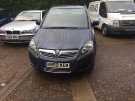 Vauxhall/Opel Zafira 1.6i 16v vvt Life 5 door 83.000 miles 7 seater