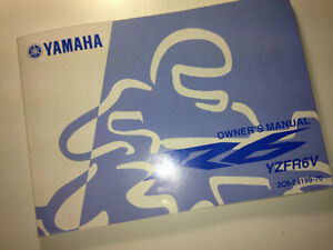YAMAHA R6 OWNERS MANUAL BOOK   2003 2004 2005 2006 R6S