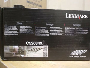 Lexmark C53034X Photocunductor unit 4  pack