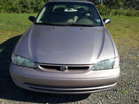 1999 Toyota Corolla VE Sedan, Great condition