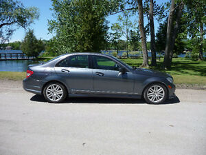 2011 Mercedes-Benz C250 V6 Sport Package AWD $78 Weekly Peterborough Peterborough Area image 2