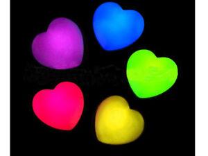 15St LED Luftballons leuchtende Herz Form Party Hochzeit Deko Ballon Geburtstag