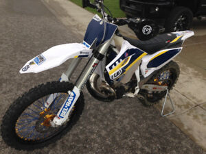 Husqvarna TC 250 X Country woods weapon