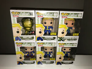 Funko POP! Fallout set of 6