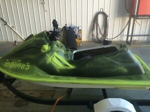 95 sea Doo sp fire damage hull engine good and trailer