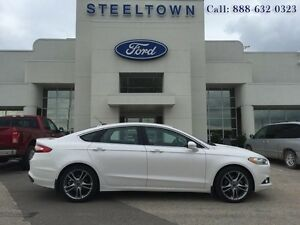 "2013 Ford Fusion ""TITANUM AWD LTHR/MOON/NAV""   - $148.45 B/W"