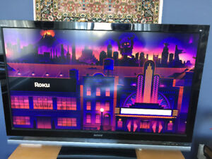 "SONY T.V. 52"" Bravia XBR.  Excellent condition."