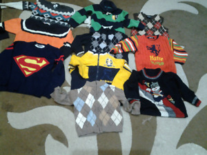 Boys clothing  lot size 2t to 4t