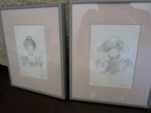 dianne ethier signed numbered prints 2 in total