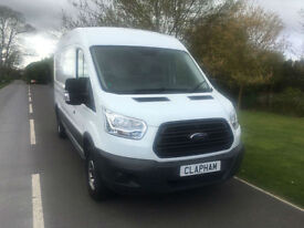 2014 64 FORD TRANSIT 350 LWB 2.2 TDCI 125BHP EURO 5 ONLY 29000 MILES 1 OWNER