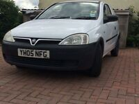 Vauxhall Corsa diesel van