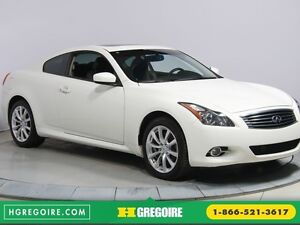 2012 Infiniti G37 COUPE PREMIUM X AWD AUTO A/C CUIR TOIT MAGS CA