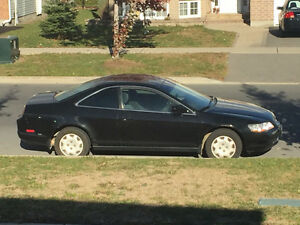 1999 Honda Accord black Coupe (2 door)