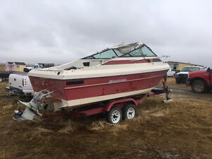 Liberty bayliner boat and trailer