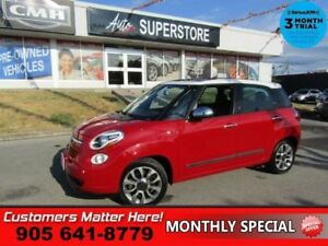 2014 Fiat 500L Lounge  NAV HS MANUAL LEATHER PANO-ROOF