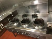 5 burner chinese cooker in very good condition for sale.