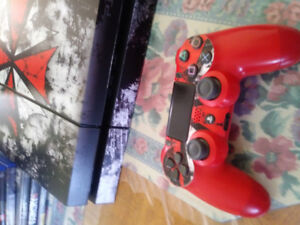 Ps4 1 controller 500 GB 9 games 350$ obo