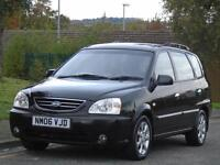 KIA CARENA2.0CRDi LE,2 OWNERS,ONLY 68000 MILS,FULL 12 MONTHS MOT,LEATHER SEATS
