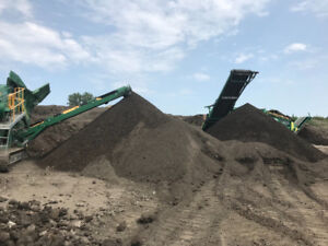 City of Windsor approved screened topsoil best soil in the city!