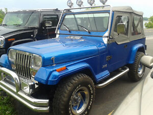 JEEP YJ 1989 5 vitesses