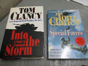 Tom Clancy:  Military Books - Special Forces/Tanks