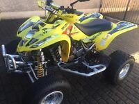 Suzuki ltz400 road legal quad