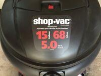 Aspirateur Shov Vac NEUF 15 gallons/ 68 litres 5HP NEW Vacuum