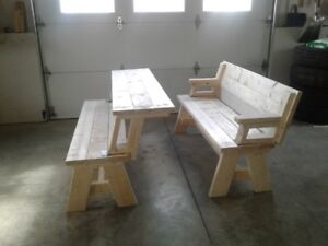 PICNIC TABLE/BENCH COMBO