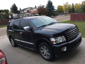 2005 Infiniti qx56 with very good features