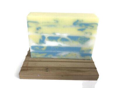 Three Butter Soap - Fresh Lemon Sugar Scent - Mango Shea & Coconut Glycerin Soap
