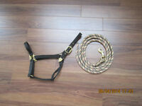 I have a Horse Halter with Strong  Lead rope barely used