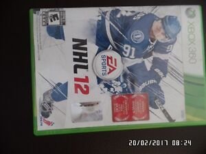 jeux NHL  12   (xbox 360)