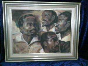 Black Brothers Oil painting for sale in mint condition Parramatta Parramatta Area Preview