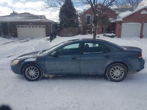 2003 Chrysler sebring reduced to $1000 drive it home