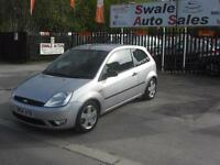 2004 FORD FIESTA1.4L FLAME, ONLY 46,089 MILES, IDEAL 1ST CAR,LOW INSURANCE GROUP