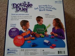 Double Duell Word Game Kitchener / Waterloo Kitchener Area image 2