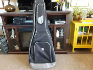 Guitar case. Padded backpack style.